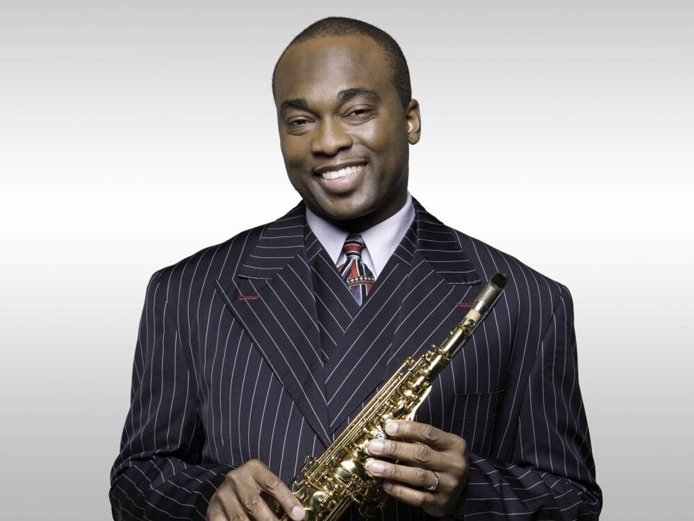 James Carter's new album, featuring compositions of Roberto Sierra, is called Caribbean Rhapsody.