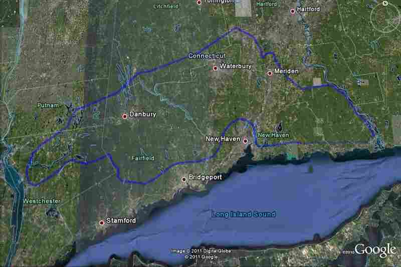 The Leatherman completed this loop across Connecticut and New York every 34 days, a routine he maintained for years.