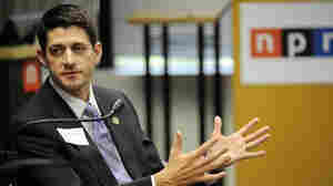 Rep. Paul Ryan (R-WI) at NPR headquarters in Washington, D.C., earlier today (May 26, 2011).