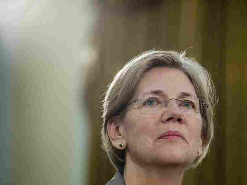 Elizabeth Warren, assistant to the president and special adviser to the Treasury secretary on the Consumer Financial Protection Bureau, testifies before a House Oversight Committee hearing on Tuesday.