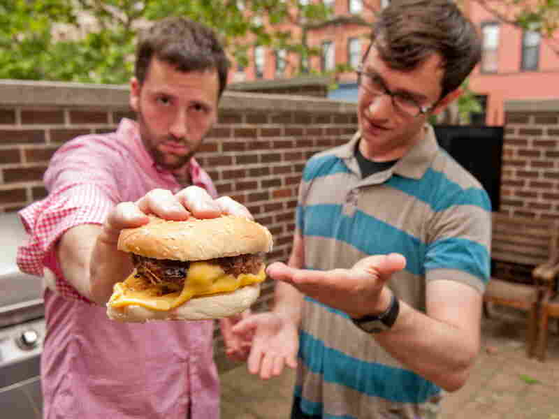 Dan Pashman's Cheeseburger With Cheese On The Bottom.