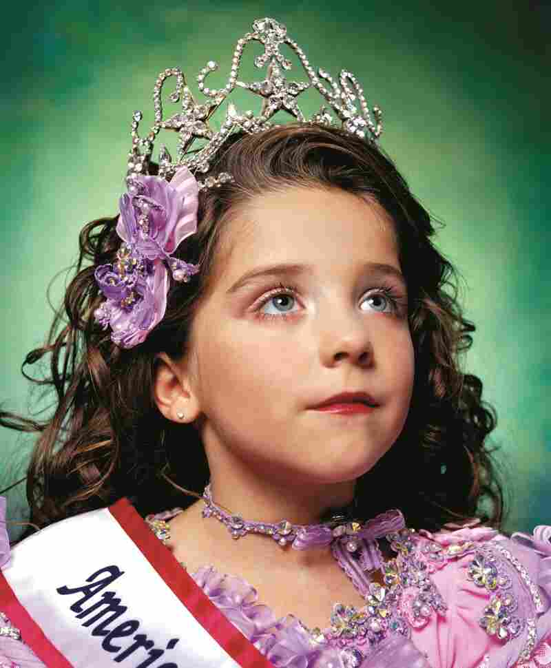 "New York-based artist Andres Serrano's America (Jewel-Joy Stevens, America's Little Yankee Miss) is one of many works included in ""America: Now and Here."""