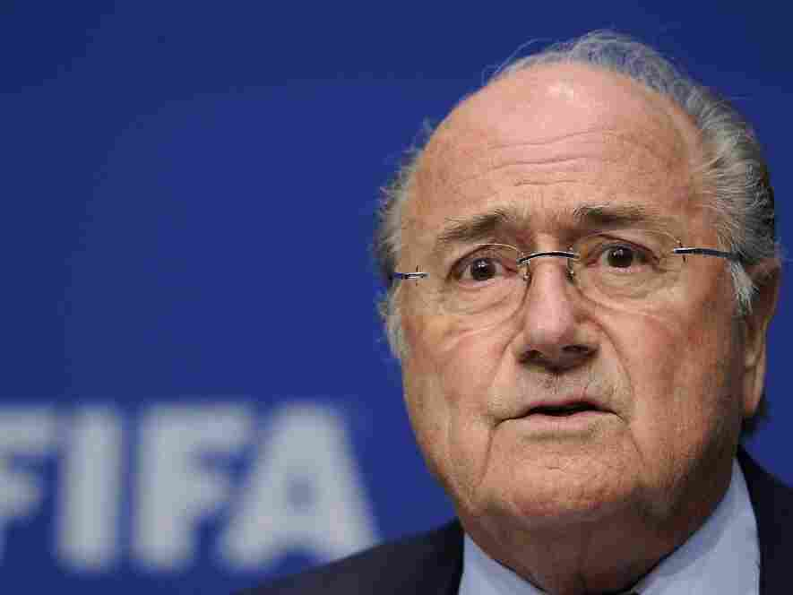 FIFA President Sepp Blatter on May 9, 2011, in Zurich.
