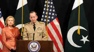 Secretary of State Hillary Rodham Clinton and Adm. Mike Mullen, chairman of the Joint Chiefs of Staff, were in Islamabad today (May 27, 2011).