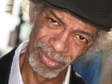 Gil Scott-Heron in Harlem in 2010.