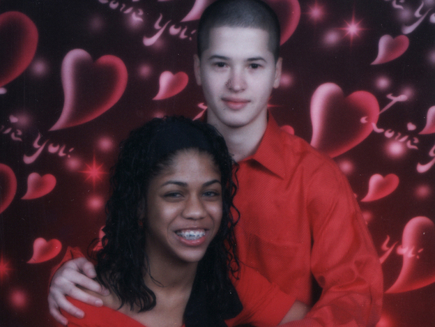 In 2007, during their senior year of high school, Jadira and Ivan Lopez skipped school, wore matching red shirts, went to the mall and had their photo taken.