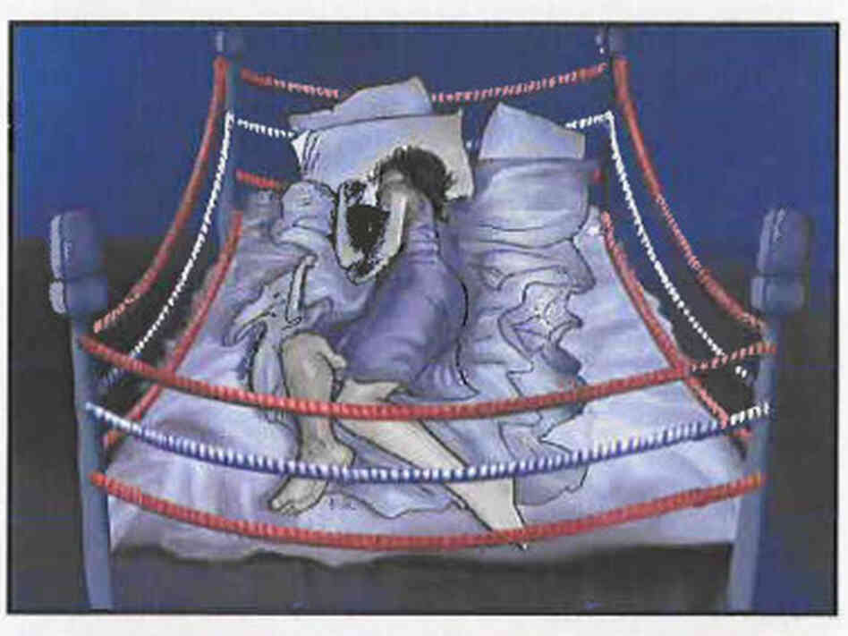 An image from the storyboard for a TV ad for the insomnia drug Lunesta, which the Food and Drug Administration said in 2010 made unsubstantiated claims.
