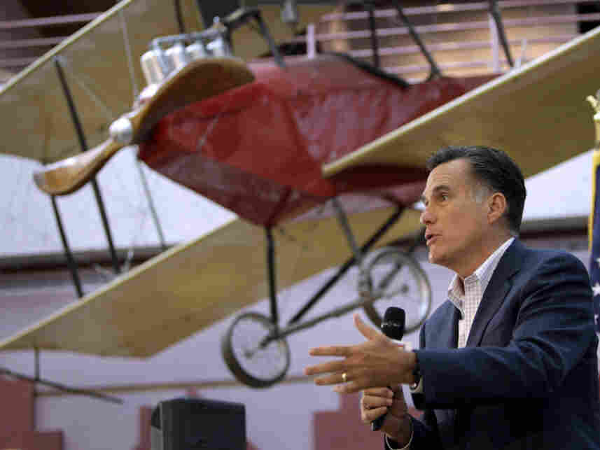 Mitt Romney in Des Moines, IA,  May 27, 2011.