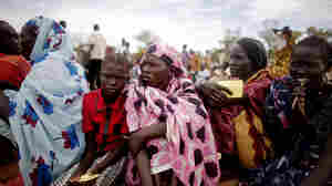 Refugees in the village of Mayan Abun, southern Sudan, on Thursday (May 26, 2011).