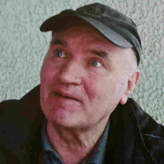 "An undated picture provided by the Serbian newspaper ""Politika"" shows Ratko Mladic."