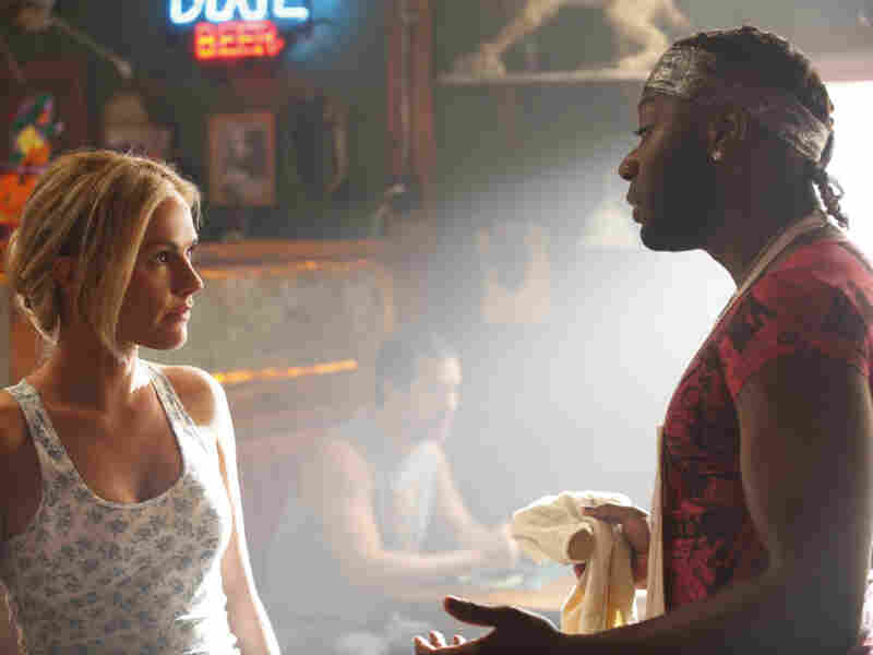Sookie Stackhouse (Anna Paquin) and Lafayette Reynolds (Nelsan Ellis) return to the Louisiana bayou for True Blood's fourth season.