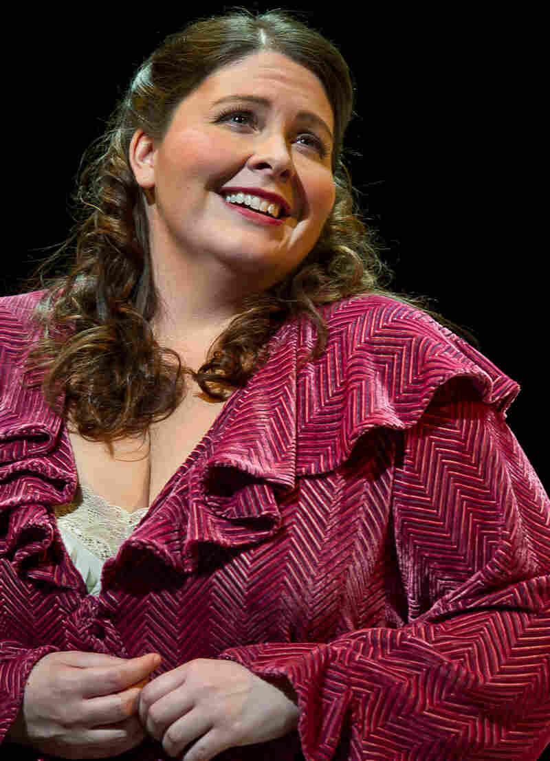 Rising soprano Angela Meade stars in Saverio Mercadante's rarely heard opera Virginia at the Wexford Opera Festival in Ireland.