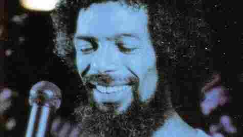 """Gil Scott-Heron on the cover of The Mind of Gil Scott-Heron, the album on which """"Jose Campos Torres"""" was released."""