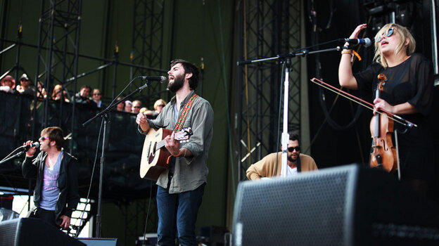 The Head And The Heart performs at the 2011 Sasquatch Music Festival.