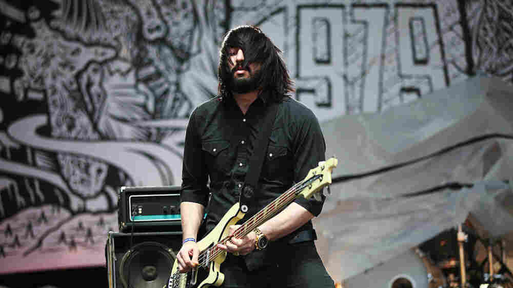 Death From Above 1979 performs at the 2011 Sasquatch Music Festival.