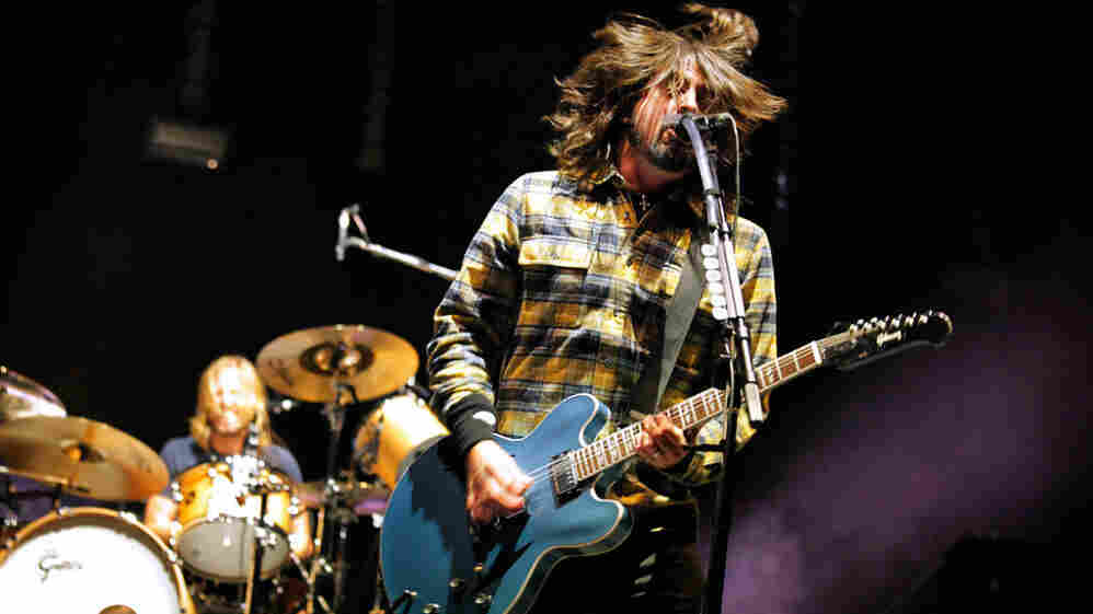 Foo Fighters plays the main stage at Sasquatch on Friday night.