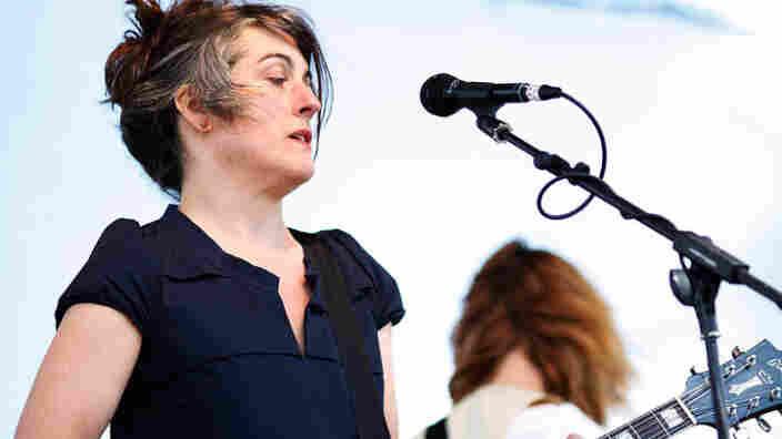 Rebecca Gates performs at the 2011 Sasquatch Music Festival.