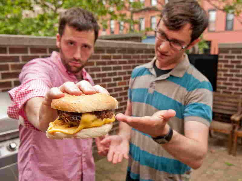 Dan Pashman's Cheeseburger With Cheese On The Bottom.