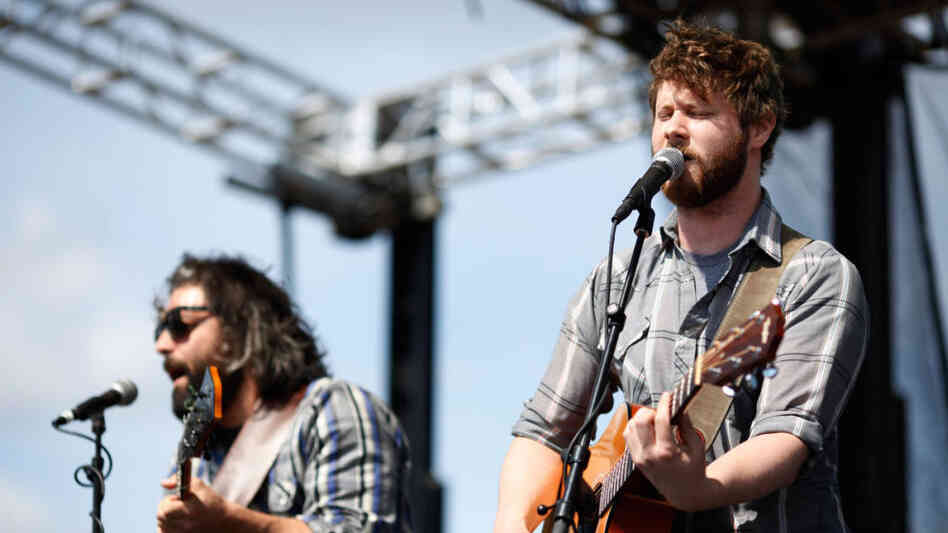 Dan Mangan performs at the 2011 Sasquatch Music Festival.