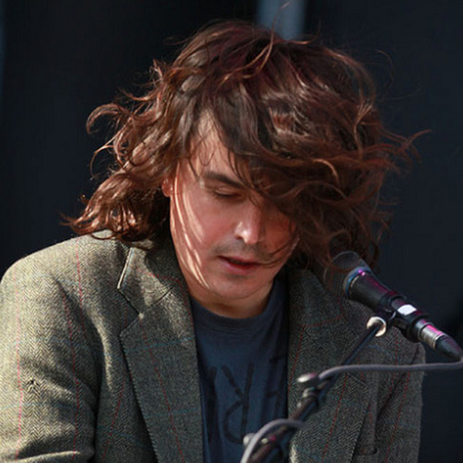 Spencer Krug of Wolf Parade performs at Sasquatch Music Festival 2011. (Alex Crick for KEXP)