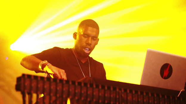 Flying Lotus performs at the 2011 Sasquatch Music Festival.