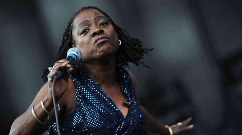 Sharon Jones performs at the 2011 Sasquatch Music Festival.