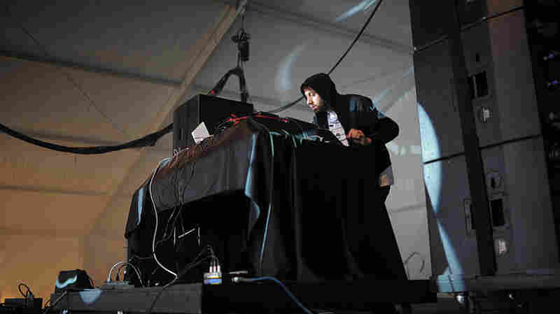 Gold Panda performs live at the 2011 Sasquatch Music Festival.