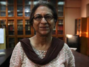 Asma Jehangir, a human rights advocate and lawyer in Lahore, Pakist