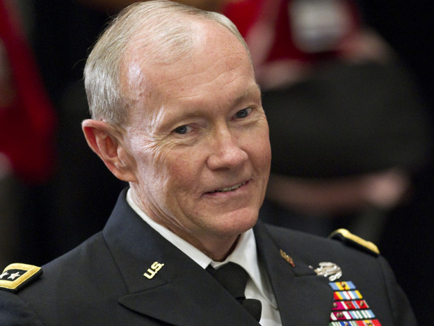 Army Chief of Staff Gen. Martin Dempsey pauses before speaking to family members of fallen service members at a Tragedy Assistance Program for Survivors seminar.