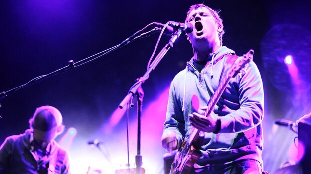 Modest Mouse plays the Sasquatch Music Festival 2011.