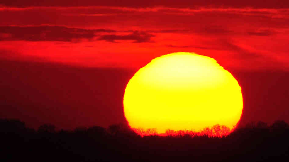 Science says the sun will rise again tomorrow.