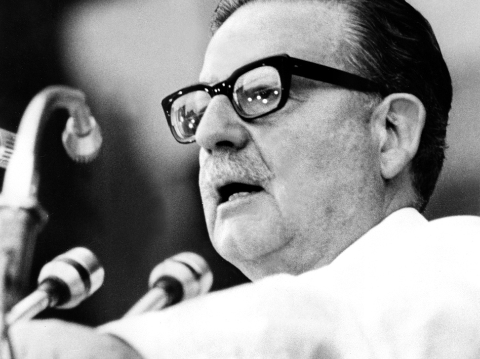 Image result for 6. Salvador Allende