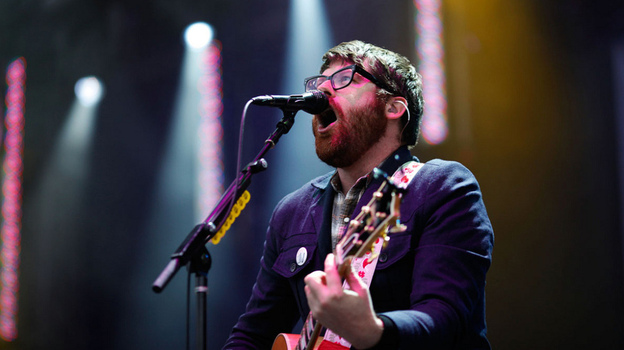Colin Meloy of The Decemberists performs at Sasquatch Music Festival 2011.