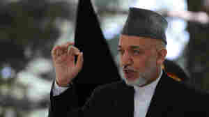 Karzai: Afghans 'Can No Longer Tolerate' NATO Strikes That Hit Civilians