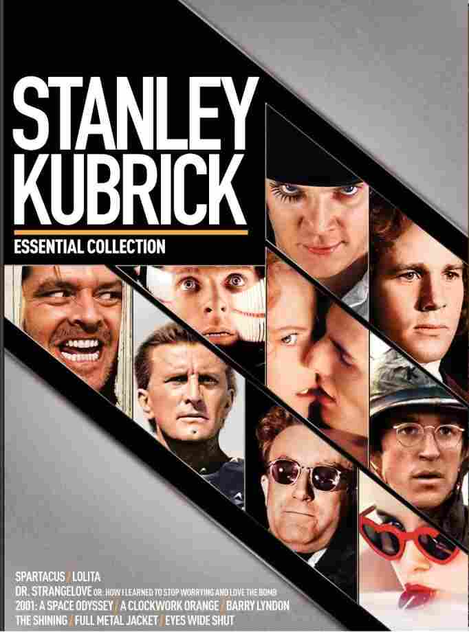 The cover of Stanley Kubrick: The Essential Collection.