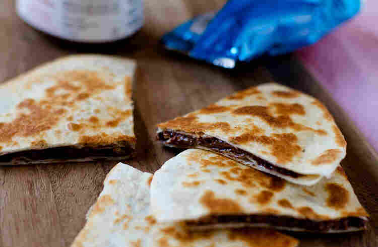 Co Co Sala's Nutella & Crispy Treat Quesadilla