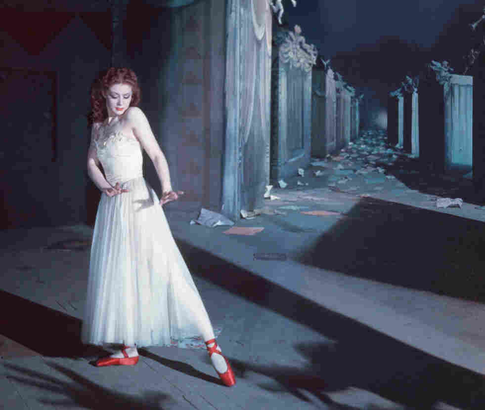 The Red Shoes, one of Cardiff's Technicolor masterpieces, starred Moira Shearer as a dancer torn between art and love.