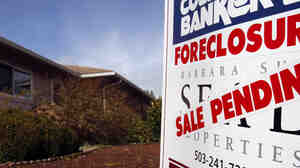 When the housing bubble burst, many homes went into foreclosure — further depressing prices.