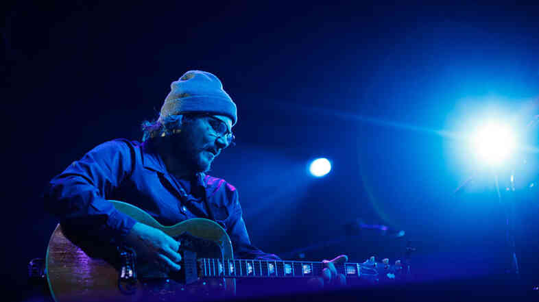 Jeff Tweedy of Wilco performs at Sasquatch Music Festival 2011.