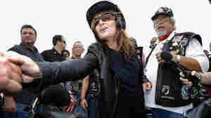 Palin Kick-Starts Bus Tour On Back Of Motorcycle
