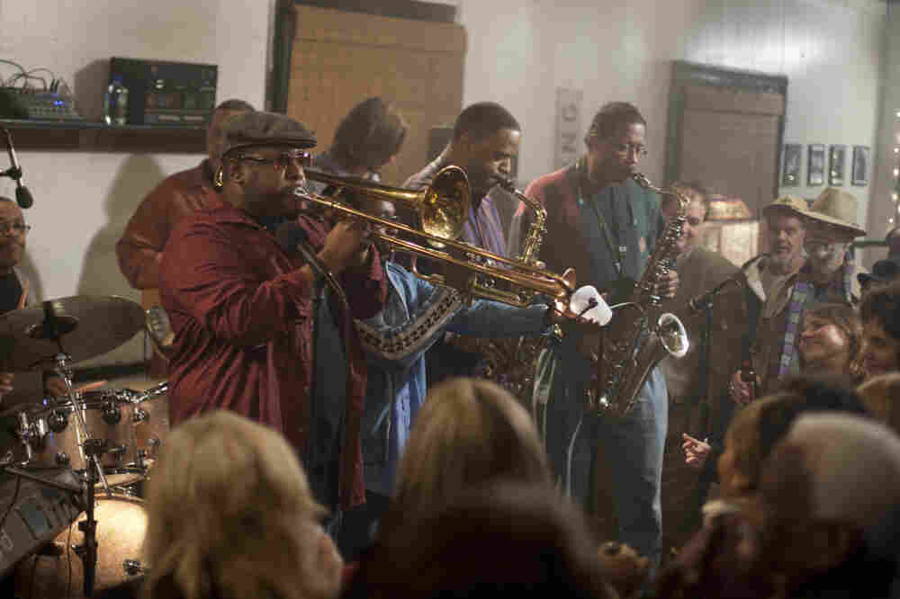 Antoine Batiste (Wendell Pierce) leads the Soul Apostles in the latest episode of Treme.