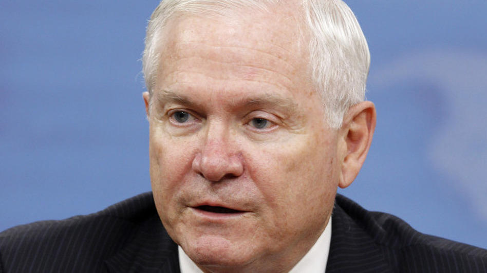 Secretary of Defense Robert Gates.