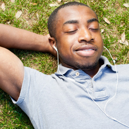 Listening to music can make you feel more relaxed, but in some cultures, it's actually used to ease pain.