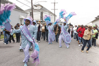 The Original Pigeon Town Steppers parade during the latest episode of Treme.