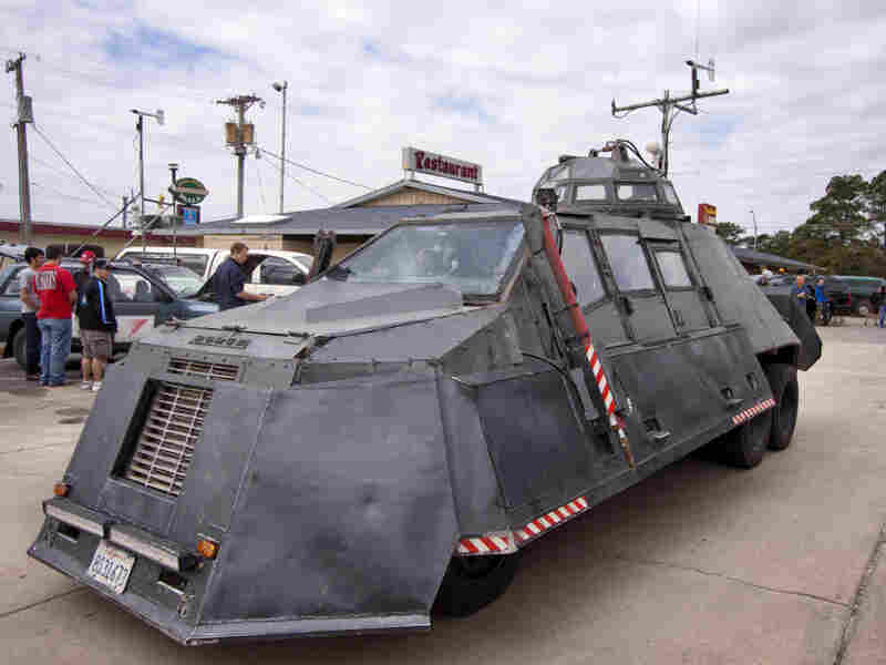 The TIV-2 is Sean Casey's second TIV model. The first, TIV-1, weighed 15,000 pounds and could only go 80 mph.