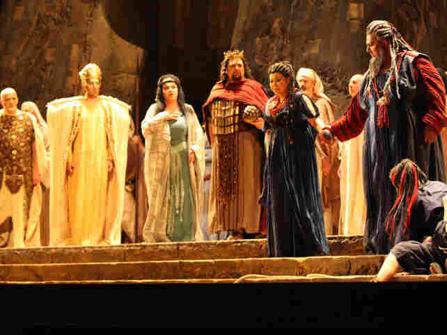 Aida at the Maggio Musicale Festival in Florence.