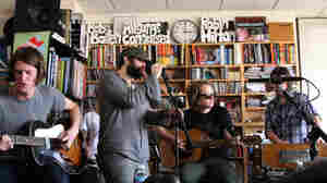 The Black Angels perform a Tiny Desk Concert at the NPR Music offices.