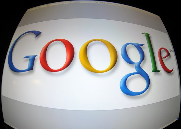 (FILES) This January 11, 2011 screen imageshows the Google logo in Washington, DC. Google unveiled an online payment platform for publishers on February 16, 2011, a day after Apple launched a