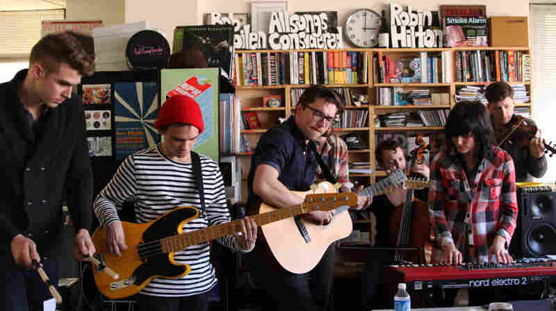 Kopecky Family Band performs a Tiny Desk Concert at the NPR Music offices.