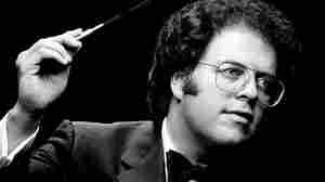 Conductor James Levine, early in his career.